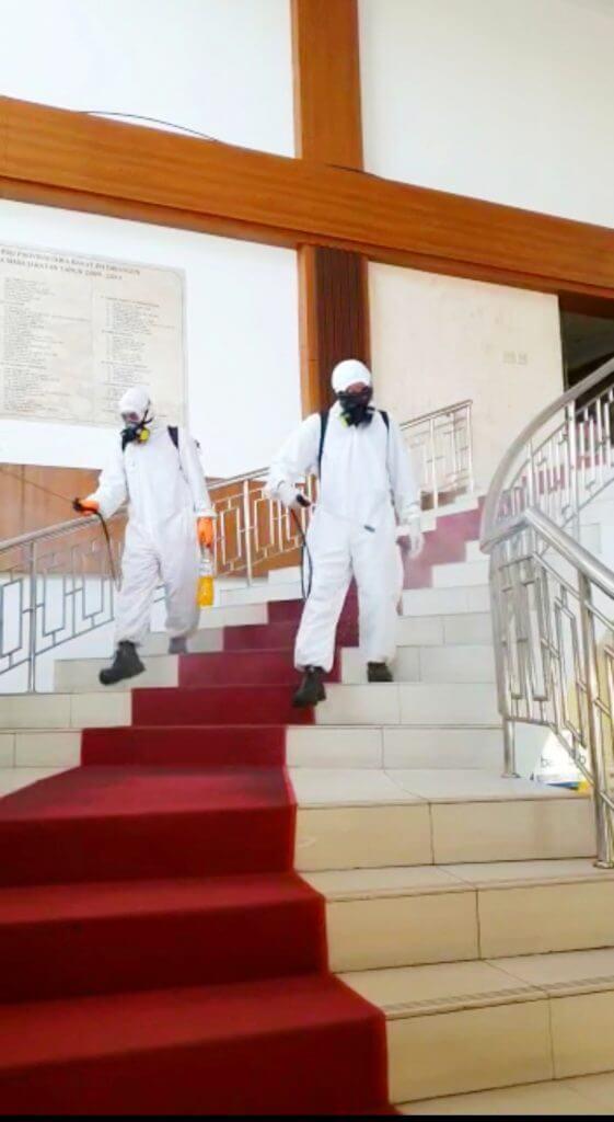 jasa disinfektan covid rumah bandung